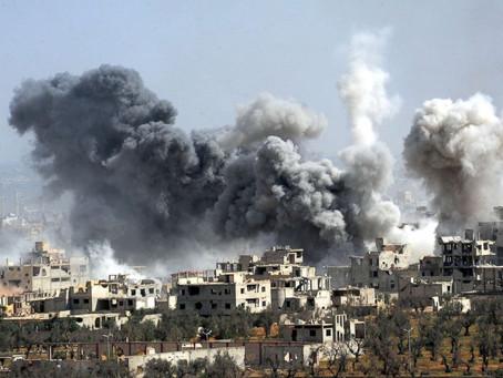 Κάντε ησυχία όταν τα παιδιά κοιμούνται – Σταματήστε την καταστροφή στην Συρία