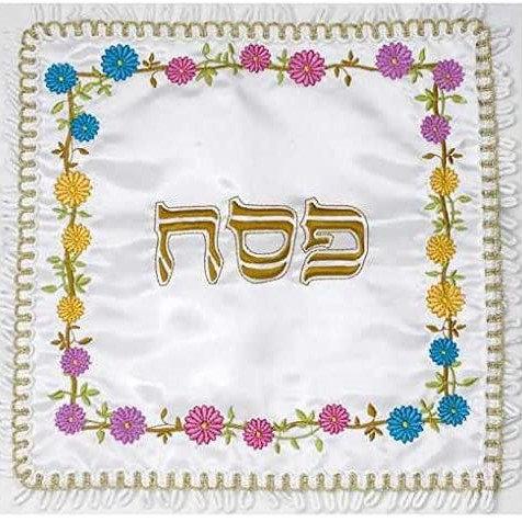 "Matzah Cover ""Flowers"""