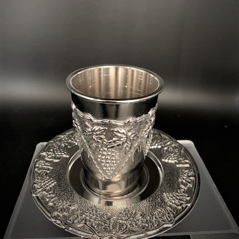 Kiddush Cup and Tray