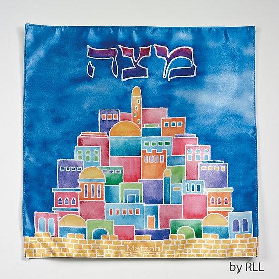 "Matzah Cover ""Jerusalem"""