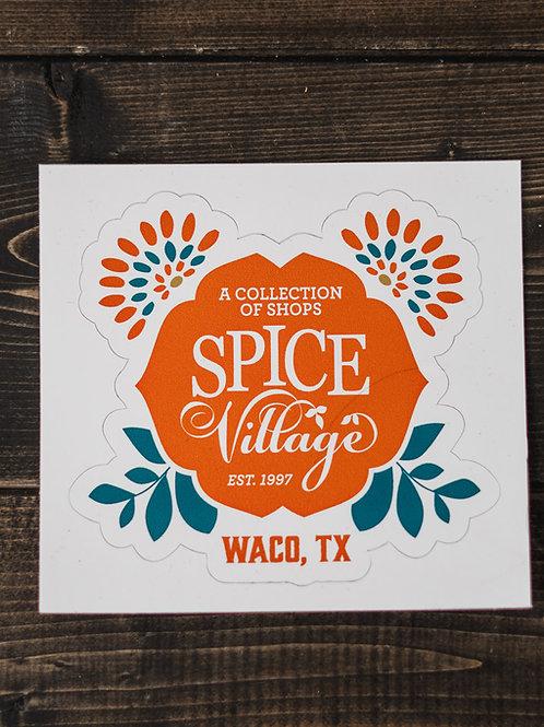 Spice Village Sticker