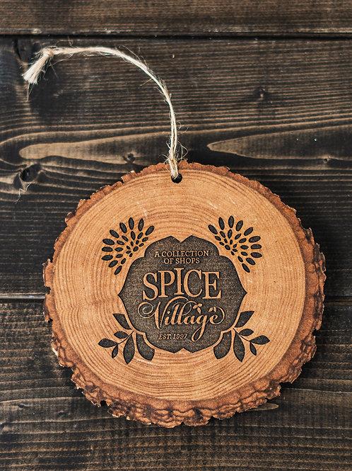 Spice Village Wooden Ornament