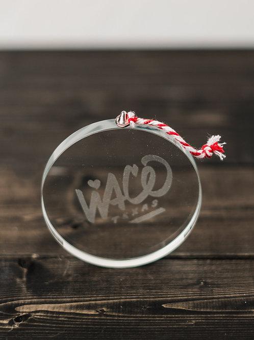 Glass Waco Ornament