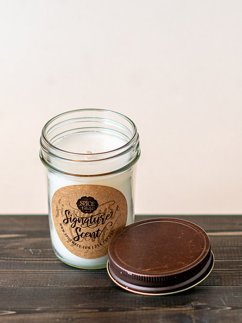Signature Scent - Mason Jar Candle