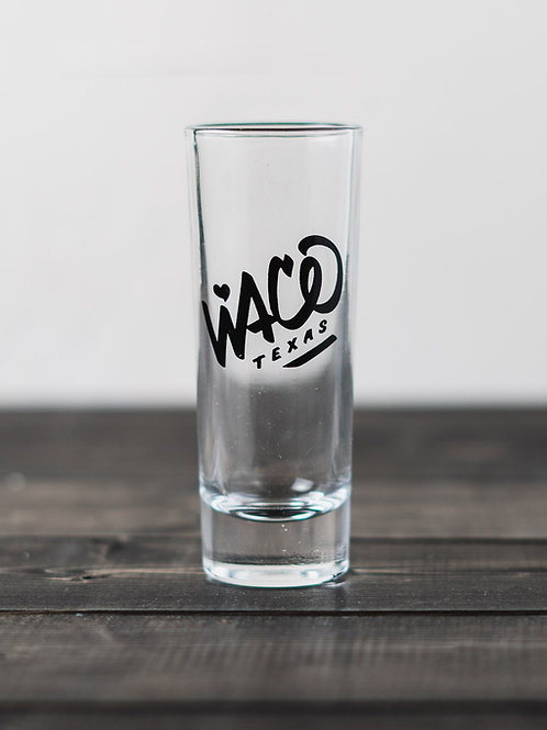 Tall Waco Shot Glass