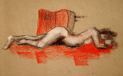 'reclining nude'
