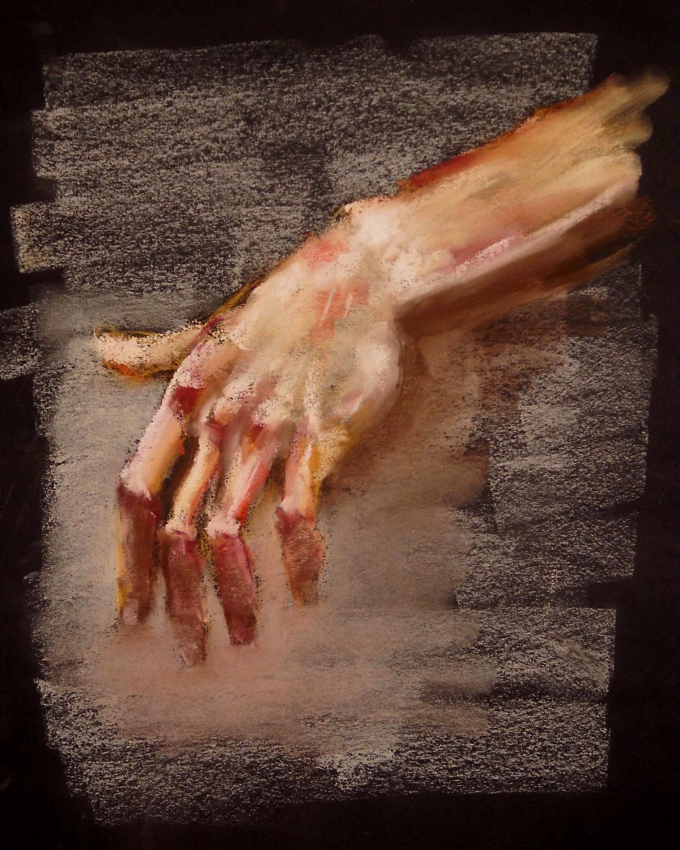 'hands V'