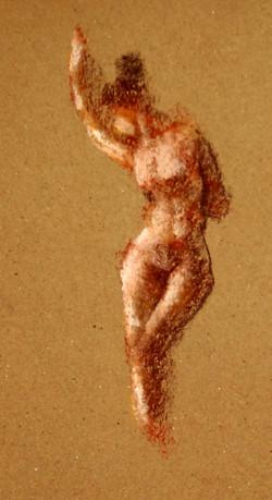 'standing nude III'