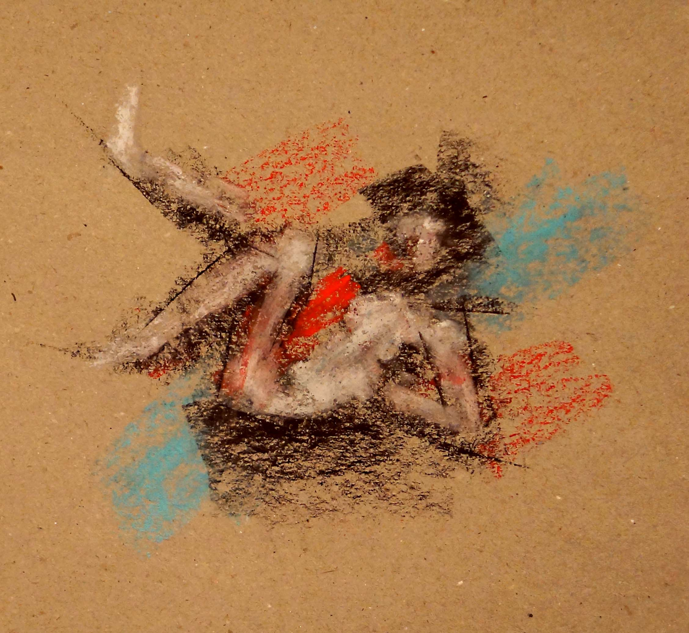'reclining nude II'