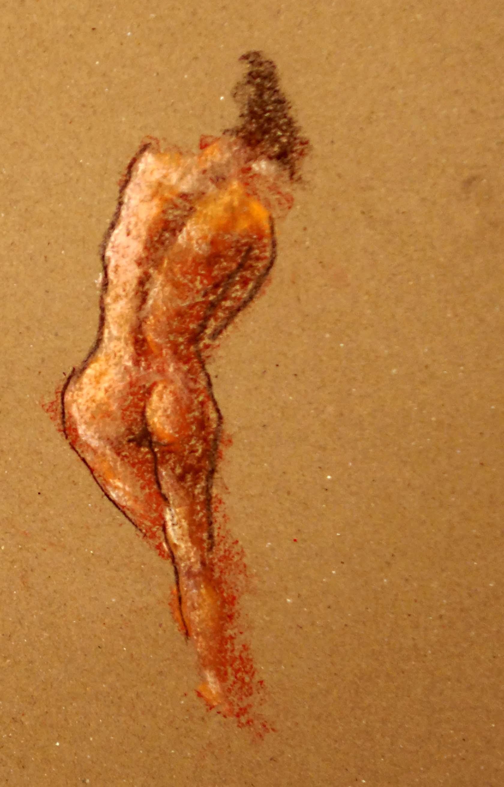 'standing nude II'