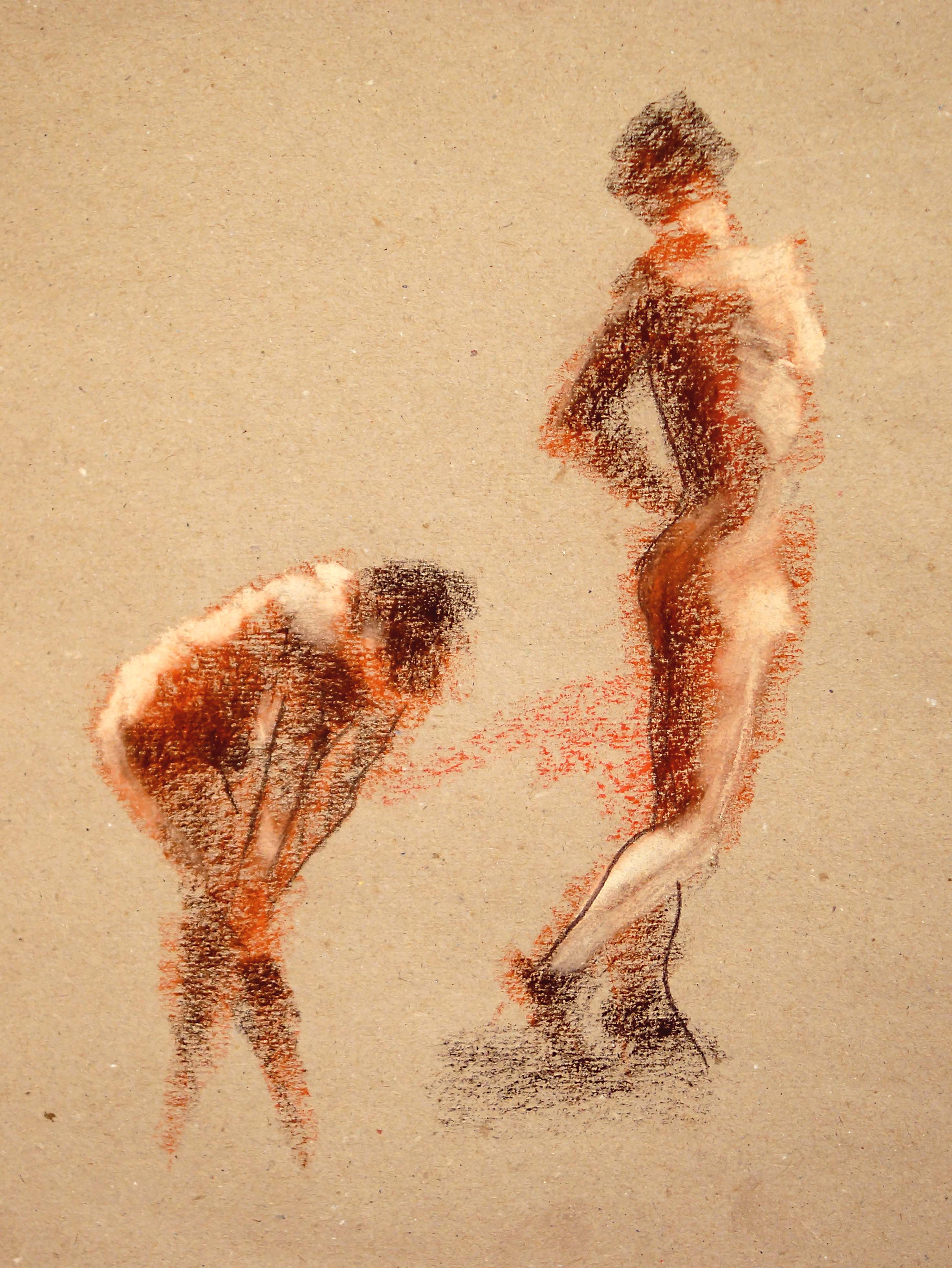 'two figures'