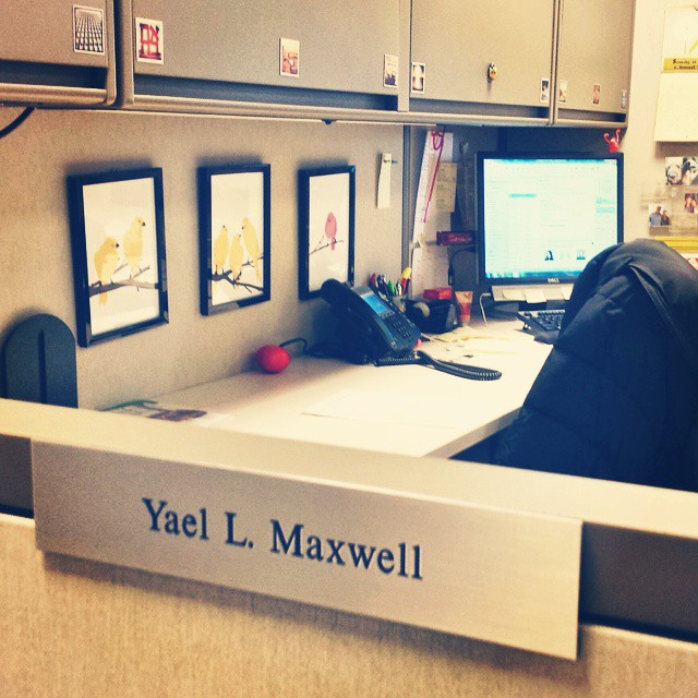 Instagram - It was only 3+ years in the making but I finally got a nameplate! Ha