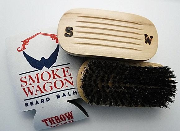 Smoke Wagon Beard Brush