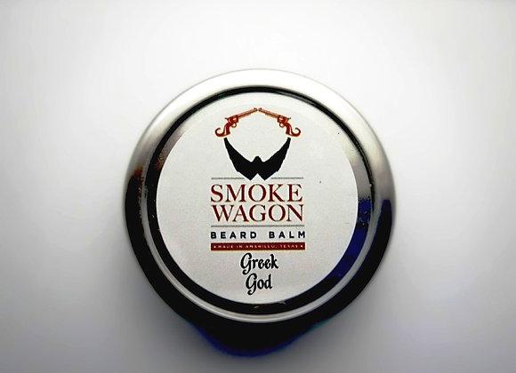 Smoke Wagon Beard Balm - Greek God