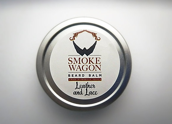 Smoke Wagon Beard Balm - Leather and Lace
