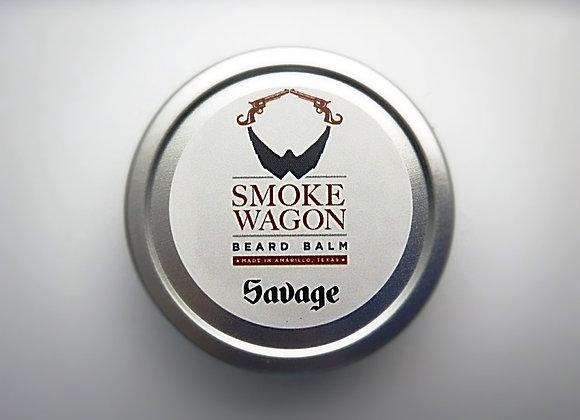 Smoke Wagon Beard Balm - Savage