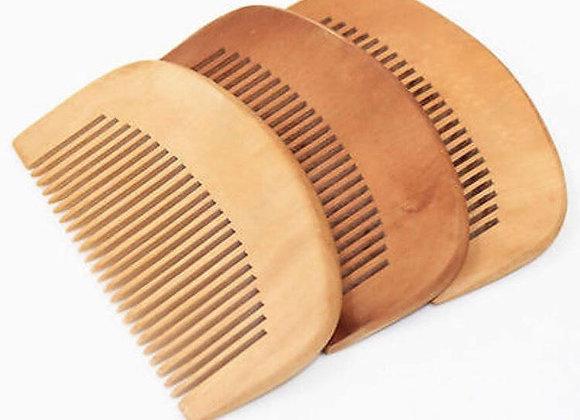 All Wood Beard Comb