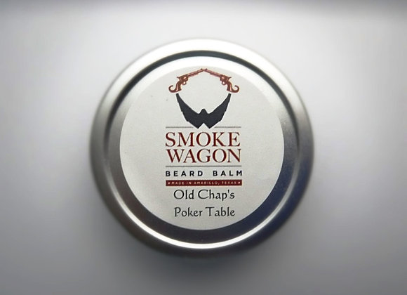 Smoke Wagon Beard Balm - Old Chap's Poker Table