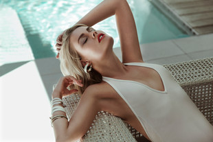 BY THE POOL