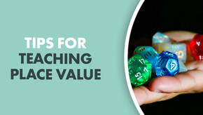 Tips For Teaching Place Value
