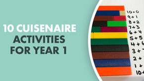 10 Cuisenaire activities for Year 1 - No partner needed!