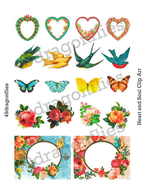 Heart and Soul Clip Art