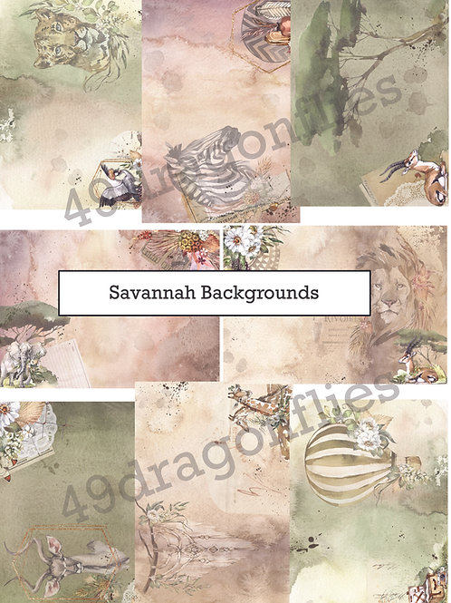 Savannah Backgrounds