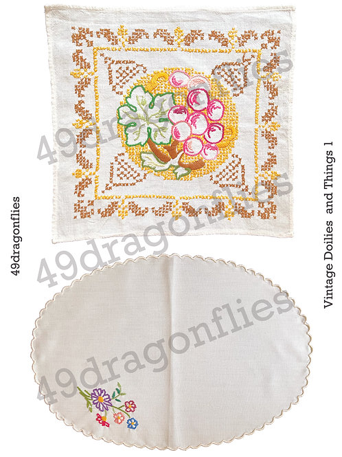 Vintage Doilies and Things