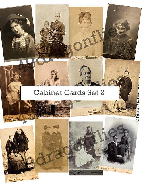 Cabinet Cards Set 2