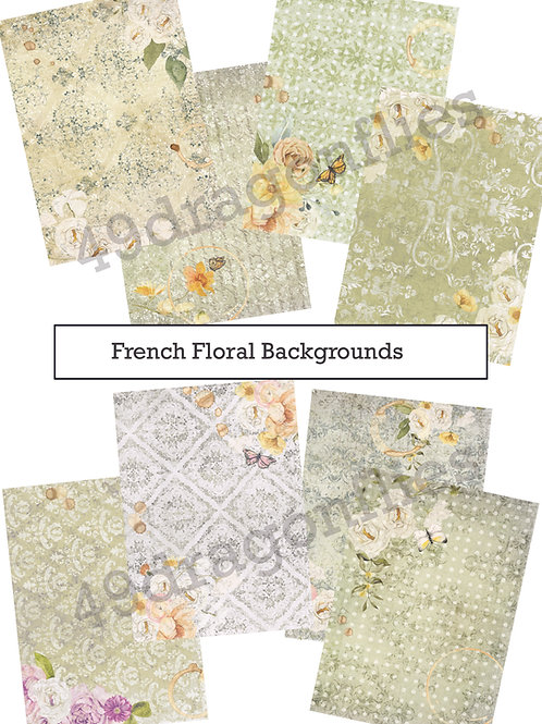 French Floral Backgrounds