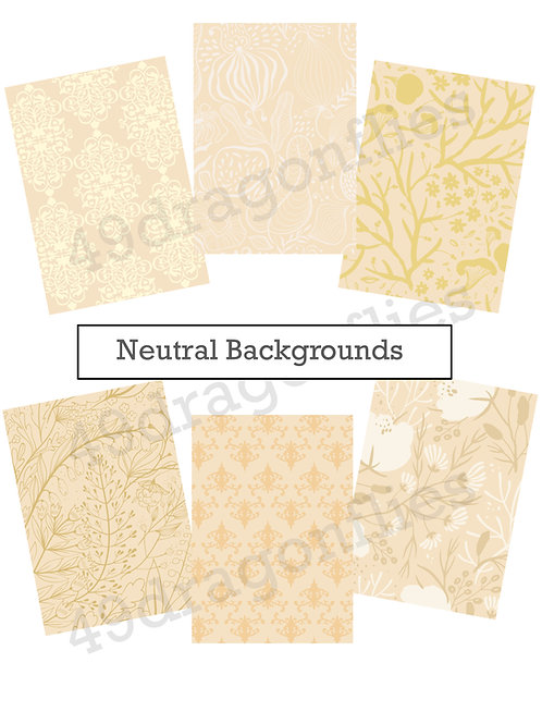 Backgrounds in neutral tones