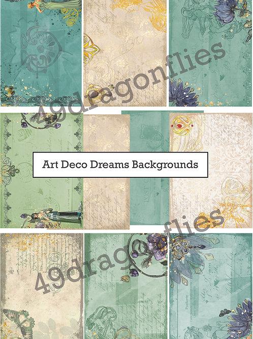 Art Deco Dreams Backgrounds