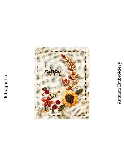 Autumn Embroidery