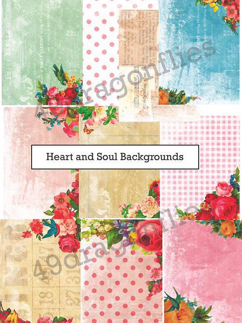 Heart and Soul Backgrounds