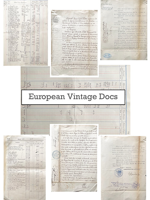 European Vintage Docs