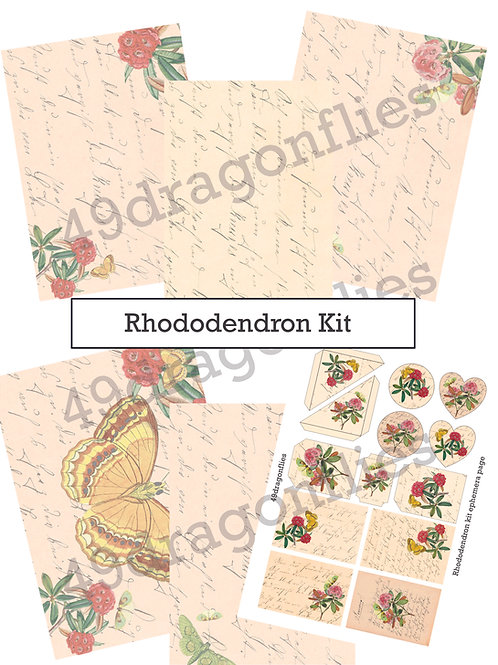 Rhododendron Journal Kit