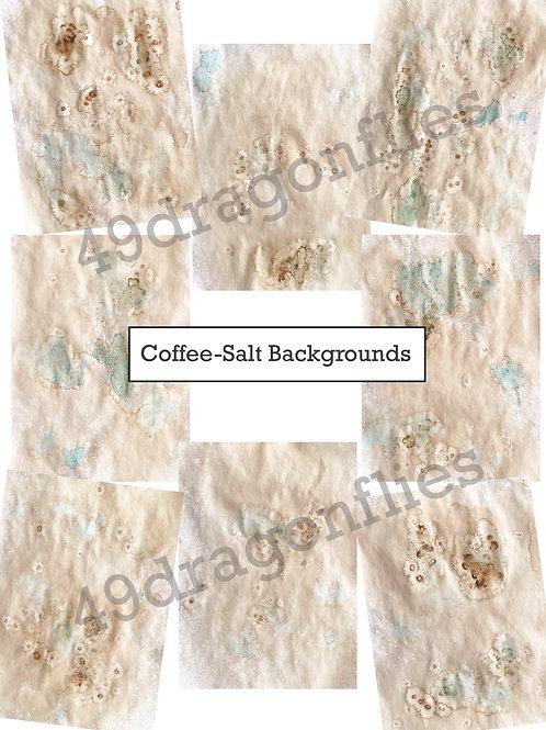 Coffee-Salt Backgrounds