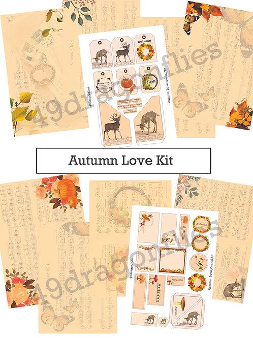 Autumn Love Journal Kit
