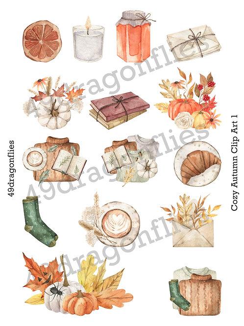 Cozy Autumn Clip Art