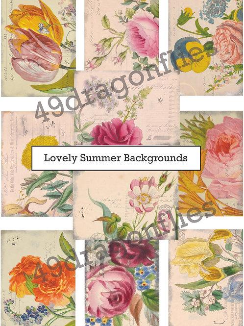 Lovely Summer Backgrounds