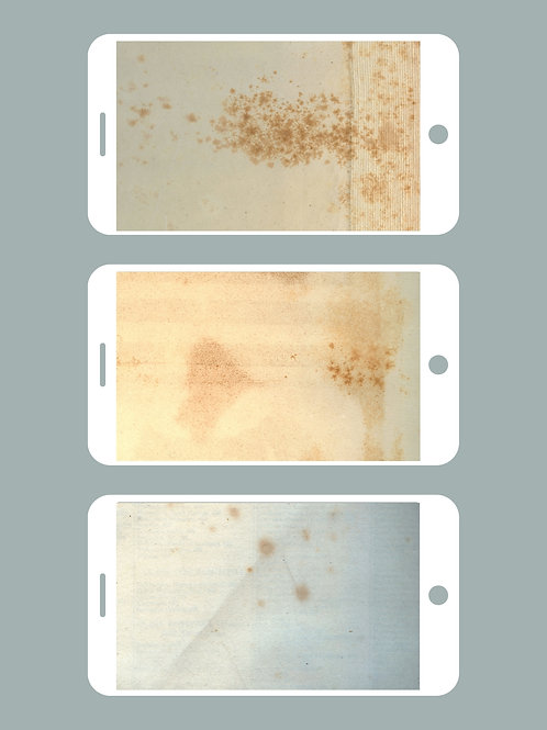 3 Phone Wallpapers, Just Old Paper Set