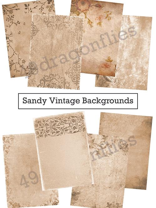 Sandy Vintage Backgrounds