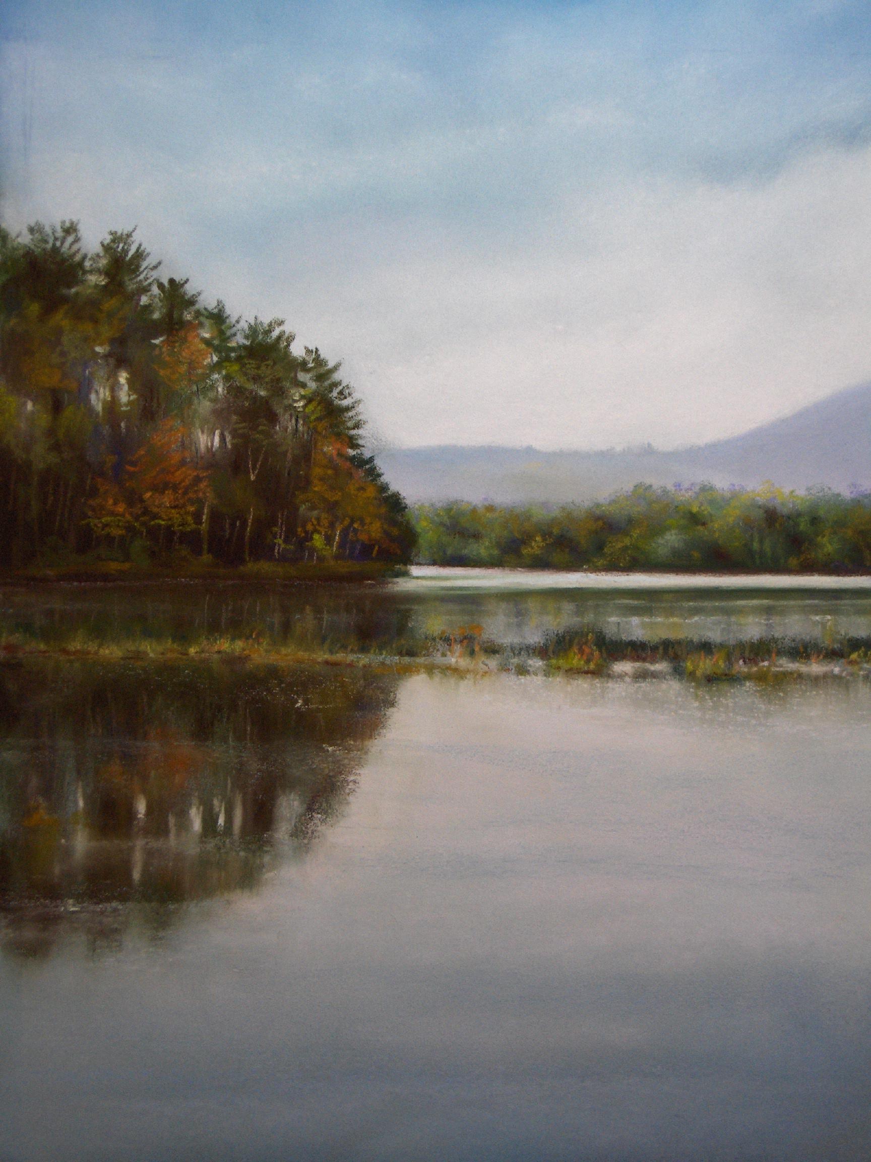 Au Bord du Grand Lac Paisible