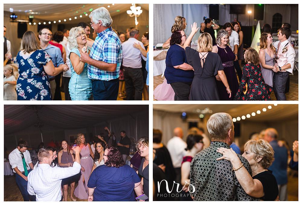 Timber Creek Wedding, Paxton IL, Dancing
