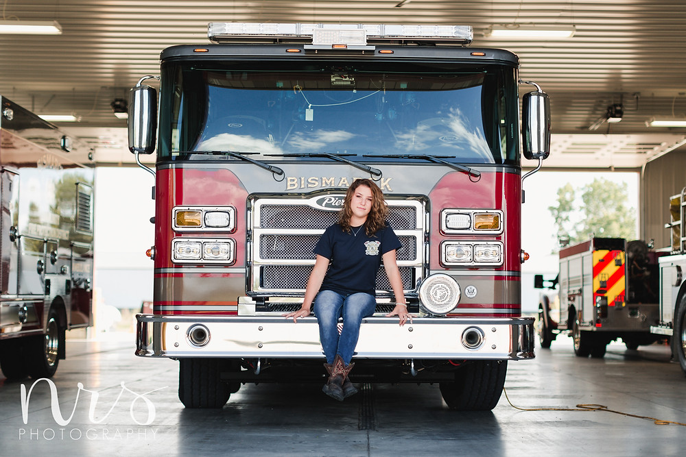 Firefighter Senior Pictures