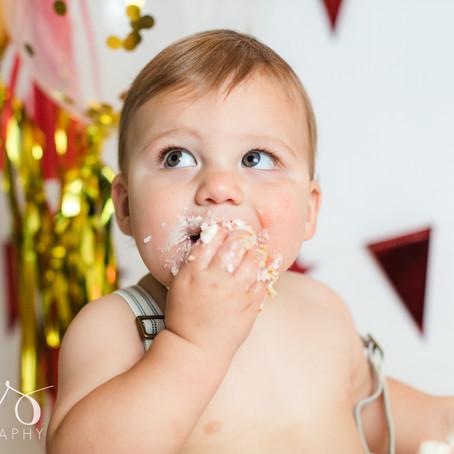 Camden   First Birthday