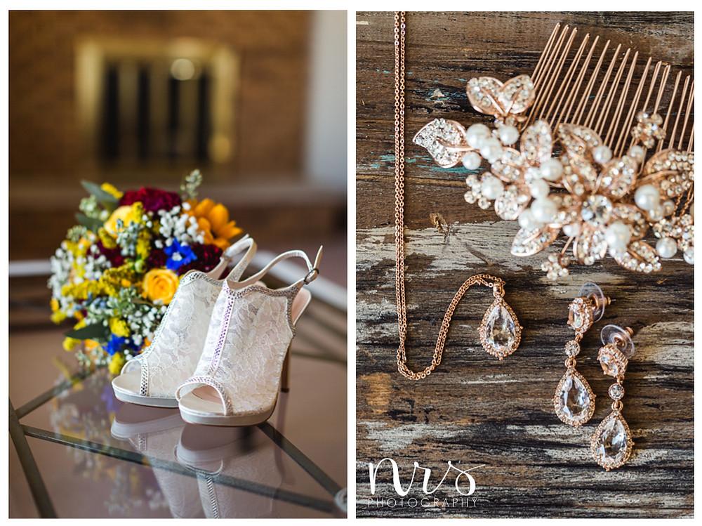 Hudson Farm Wedding, Bridal details