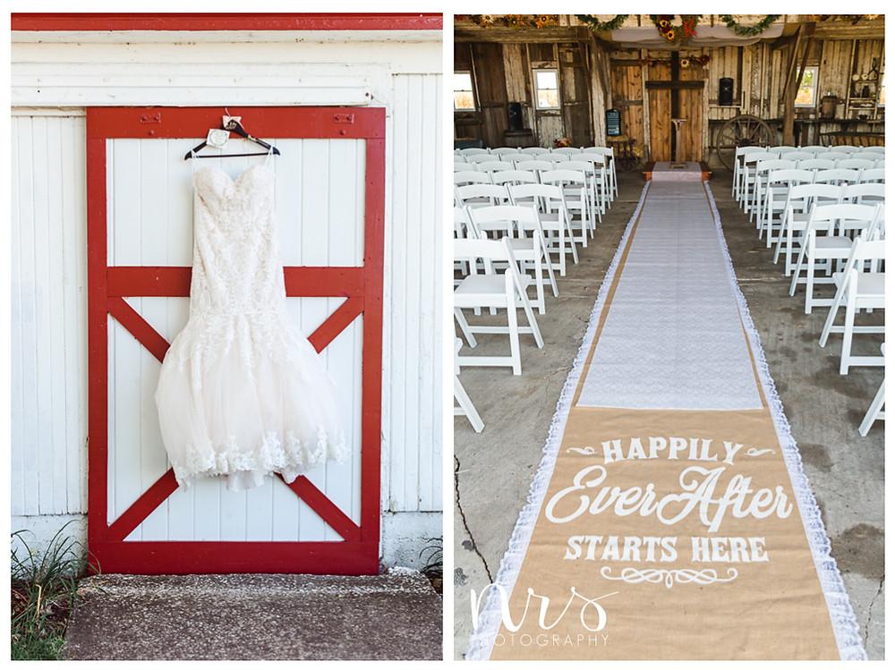 Hudson Farm Wedding, wedding dress