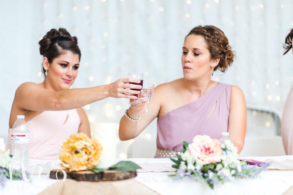 Timber Creek Wedding, Paxton IL, Toasts