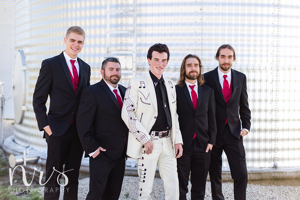 Hudson Farm Wedding, groomsmen